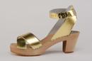 Cape Clogs 1321400 Gretta Gold