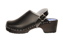 Cape Clogs 1322002 Solid Plain, Jet Black