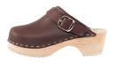 Cape Clogs 1324311 Solids, Burgundy
