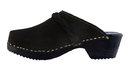 Cape Clogs 1926002 Suedes, Black Suede