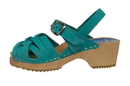 Cape Clogs 2102004 Children/Toddler, Bambi Turquoise