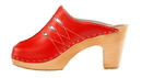 Cape Clogs 4002017 PICA PICA High Heels, Red Chanel