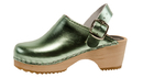 Cape Clogs 6222017 Mint Mettalic, Children/Toddler