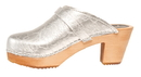 Cape Clogs 62232019 vegan, Silver Vegan