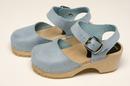 Cape Clogs 6223999 Mary Jane Sky Blue, Children/Toddler