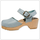 Cape Clogs 6223999 Mary Jane Sky Blue, Children/Toddler
