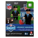 Cleveland Browns Figurine 2014 Draft Pick OYO Sportstoys Johnny Manziel
