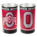 Ohio State Buckeyes Waste Basket - 15 inch - Block O Style
