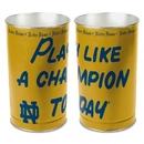 Notre Dame Fighting Irish Waste Basket 15 Inch P.L.A.C.T Design
