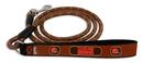 Cleveland Browns Football Leather Leash - L