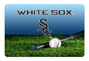 Chicago White Sox Pet Bowl Mat Classic Baseball Team Color Size Large