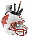 Wisconsin Badgers Schutt Mini Helmet Desk Caddy