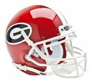 Georgia Bulldogs Schutt Mini Helmet
