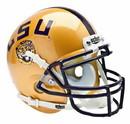 LSU Tigers Schutt Mini Helmet - Alternate Helmet