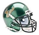 South Florida Bulls Schutt Mini Helmet - Green Alternate Helmet #1