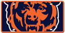 Chicago Bears License Plate - Acrylic Mega Style