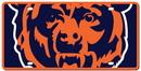 Chicago Bears License Plate - Acrylic Mega Style