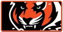 Cincinnati Bengals License Plate - Acrylic Mega Style