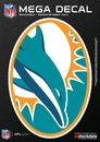 Miami Dolphins Decal 5x7 Mega