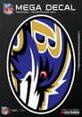 Baltimore Ravens Decal 5x7 Mega
