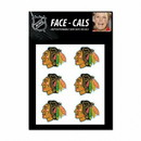 Chicago Blackhawks Tattoo Face Cals