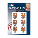 New York Mets Tattoo Face Cals