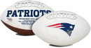 New England Patriots Football Full Size Embroidered Signature Series