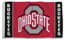Ohio State Buckeyes Flag 3x5