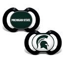Michigan State Spartans Pacifier 2 Pack