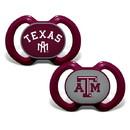 Texas A&M Aggies Pacifier 2 Pack