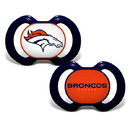 Denver Broncos Pacifier 2 Pack