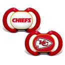 Kansas City Chiefs Pacifier 2 Pack