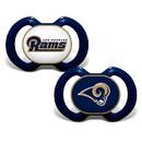 Los Angeles Rams Pacifier 2 Pack
