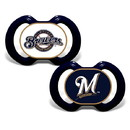 Milwaukee Brewers Pacifier 2 Pack