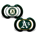 Oakland Athletics Pacifier 2 Pack