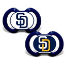 San Diego Padres Pacifier 2 Pack