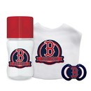 Boston Red Sox Baby Gift Set 3 Piece