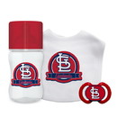 St. Louis Cardinals Baby Gift Set 3 Piece