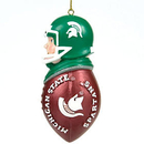 Michigan State Spartans Tackler Ornament