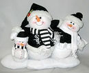 Chicago White Sox Table Top Snow Family