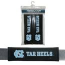 North Carolina Tar Heels Seat Belt Pads Velour