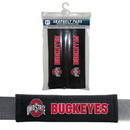 Ohio State Buckeyes Velour Seat Belt Pads