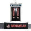 Florida State Seminoles Velour Seat Belt Pads - New Logo