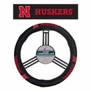 Nebraska Cornhuskers Steering Wheel Cover Leather