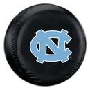 North Carolina Tar Heels Tire Cover Large Size Black Special Order