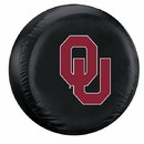 Oklahoma Sooners Tire Cover Standard Size Black