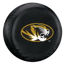 Missouri Tigers Tire Cover Standard Size Black
