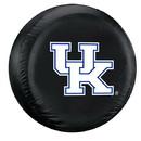 Kentucky Wildcats Black Tire Cover - Standard Size