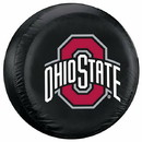 Ohio State Buckeyes Black Tire Cover - Standard Size