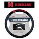 Nebraska Cornhuskers Steering Wheel Cover Mesh Style N Logo Design